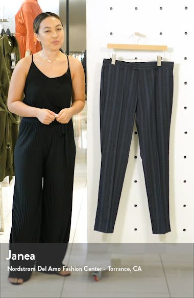Sherb Plaid Cropped Pants, sales video thumbnail