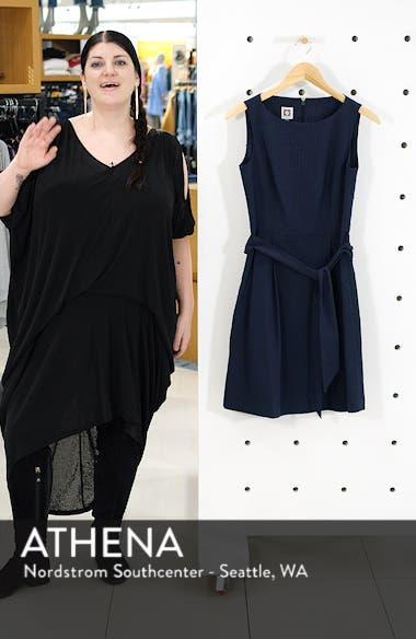 Seersucker Fit & Flare Dress, sales video thumbnail