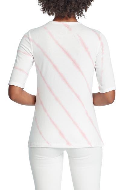 Nic + Zoe T-shirts GROOVE STRIPE T-SHIRT