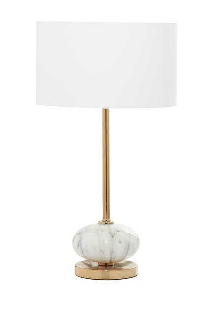 Image of Willow Row Gold Metal Glam Table Lamp