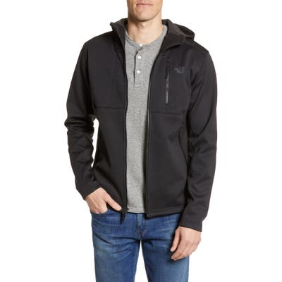 The North Face Apex Risor Water Repellent Hooded Jacket, Black