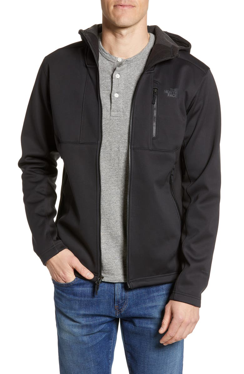 THE NORTH FACE Apex Risor Water Repellent Hooded Jacket, Main, color, TNF BLACK
