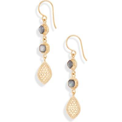 Anna Beck Triple Drop Quartz Earrings (Nordstrom Exclusive)