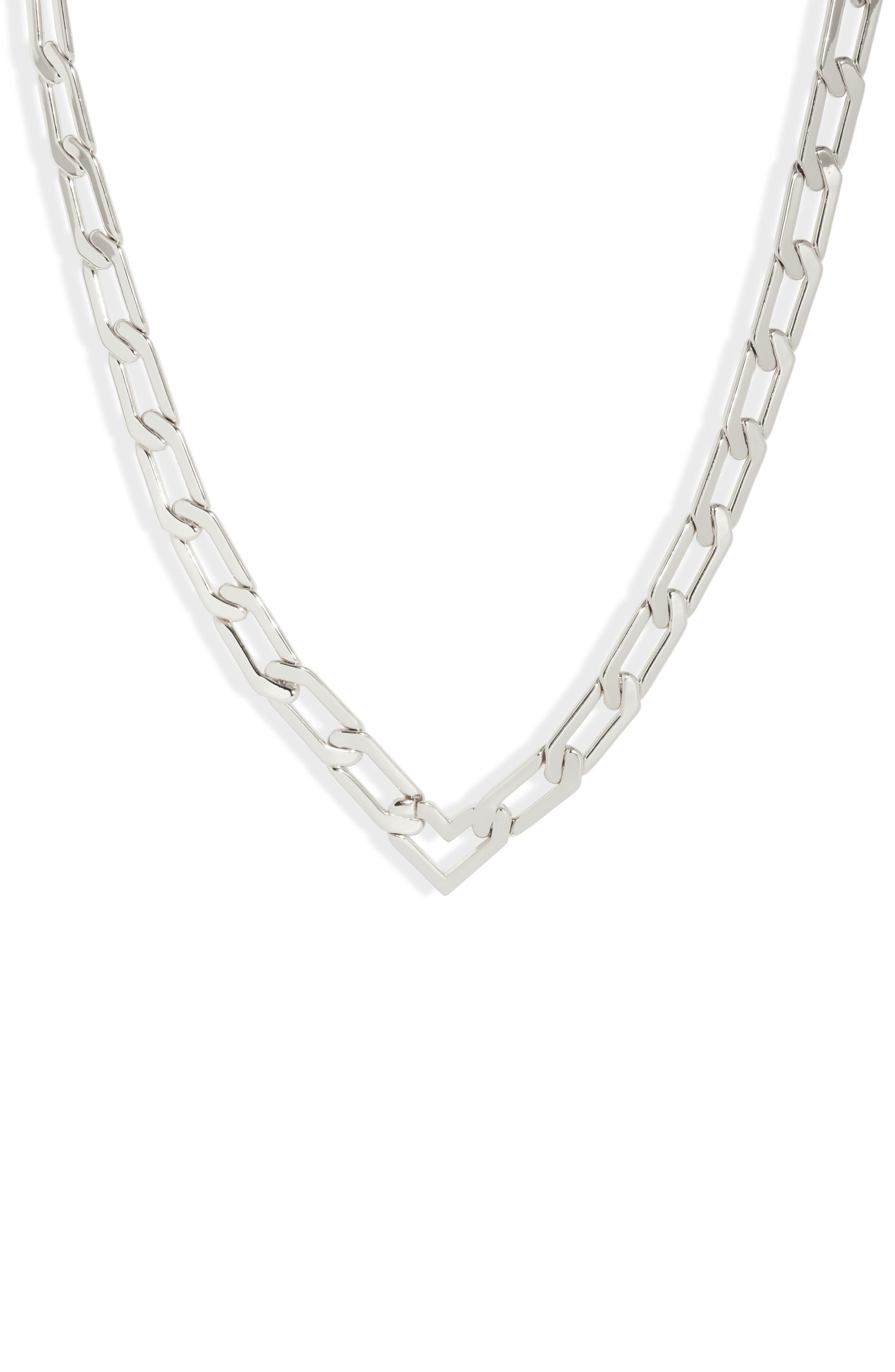 Alma Heart Chain Necklace