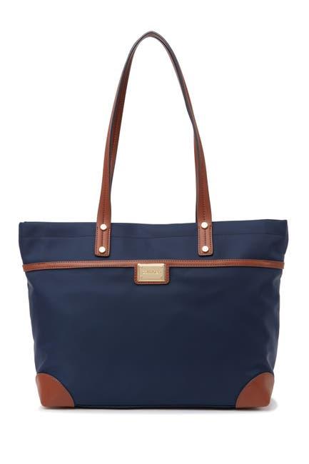 Image of Calvin Klein Tannya Nylon Tote Bag