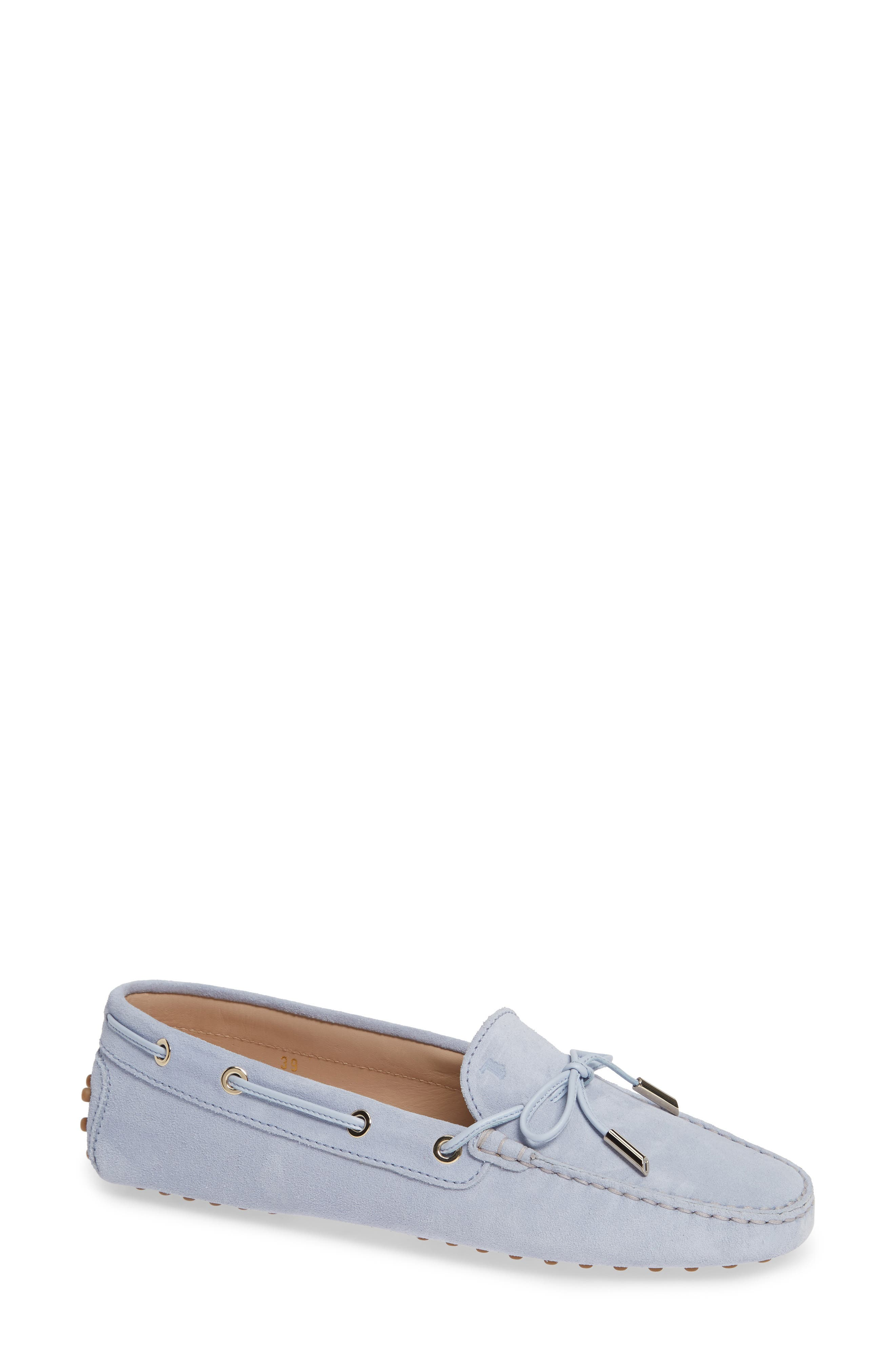 Gommini Driving Moccasin, Main, color, LILAC
