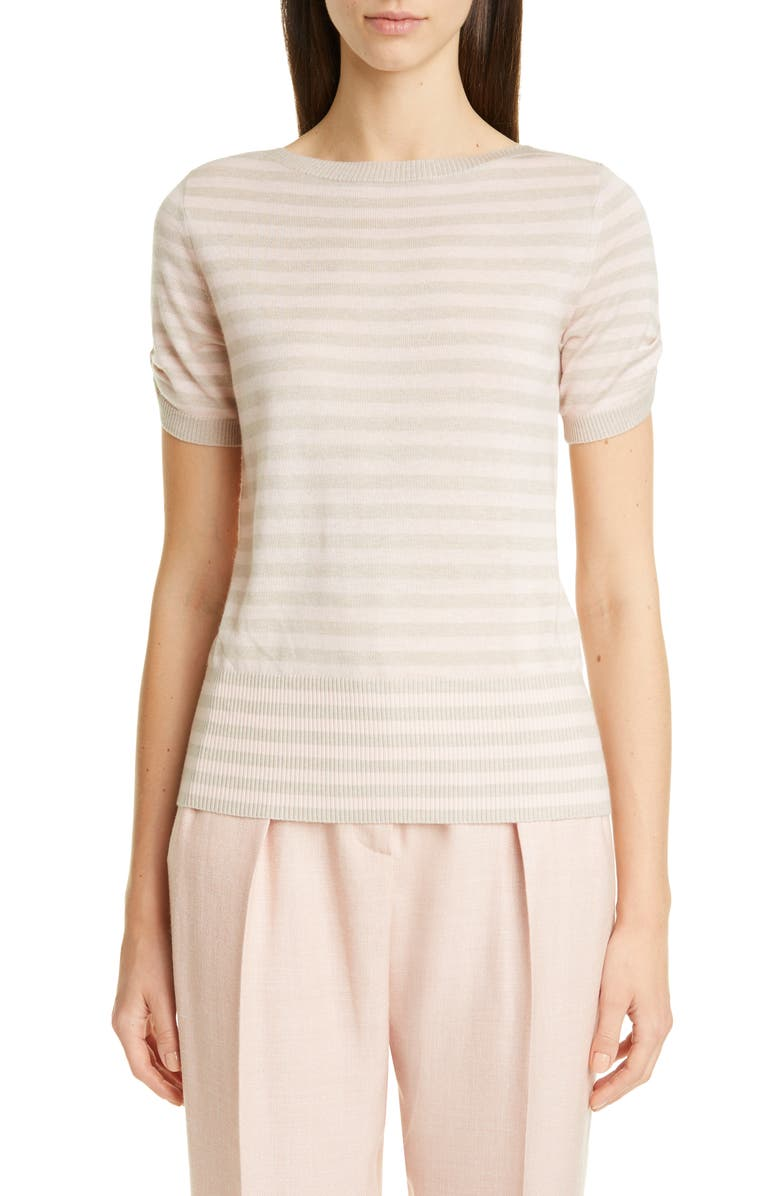 MAX MARA Osteo Silk & Cashmere Sweater, Main, color, 650