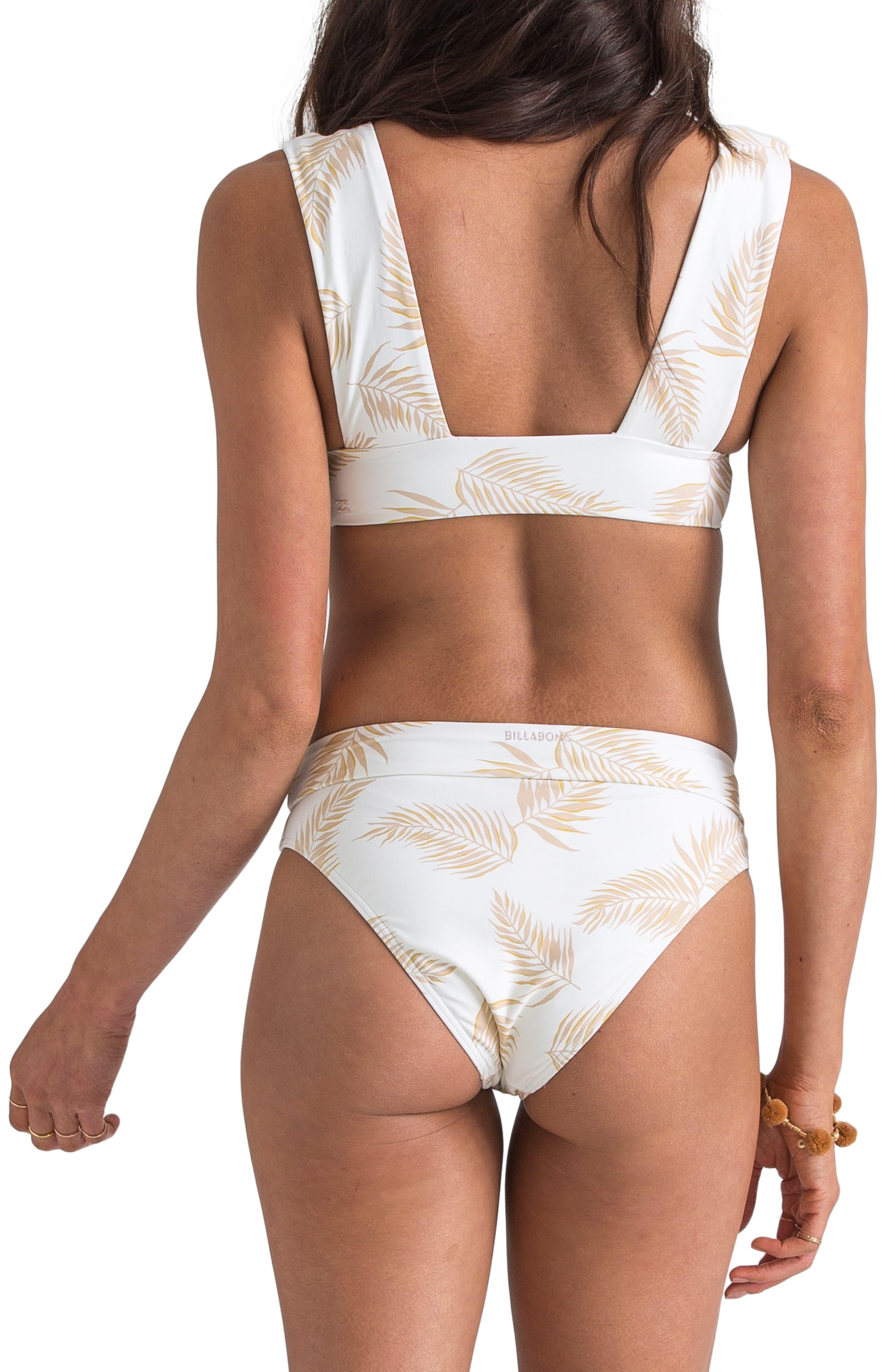 ,                             x Sincerely Jules Dos Palmas Maui High Waist Bikini Bottoms,                             Alternate thumbnail 8, color,                             SEASHELL