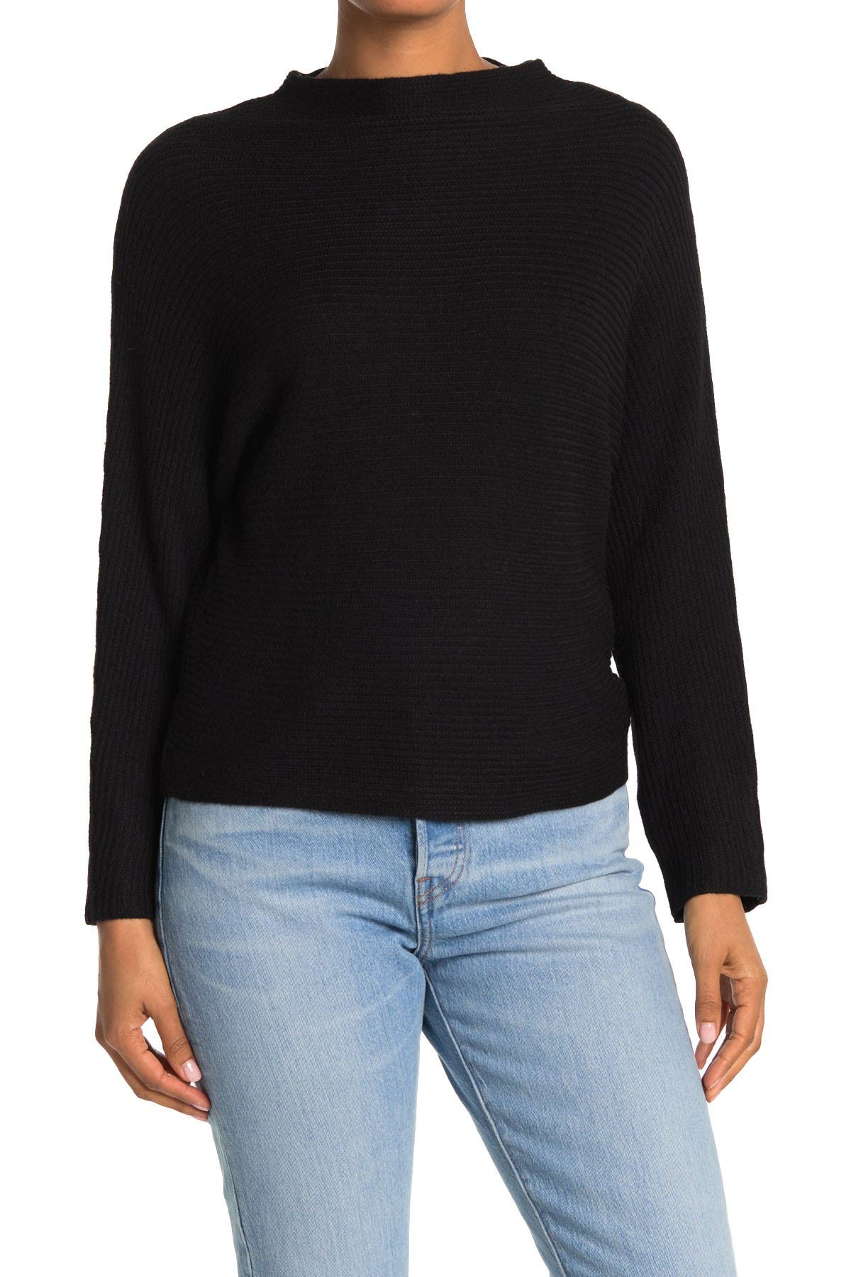Image of Philosophy Apparel Ribbed Dolman Sleeve Sweater