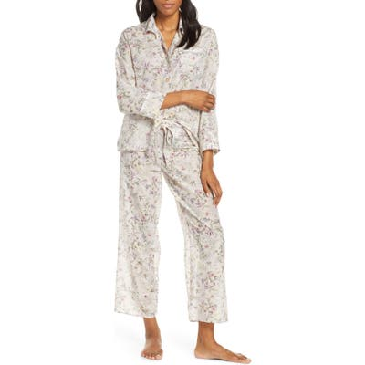 Papinelle Emmy Musk Cotton & Silk Pajamas, Pink