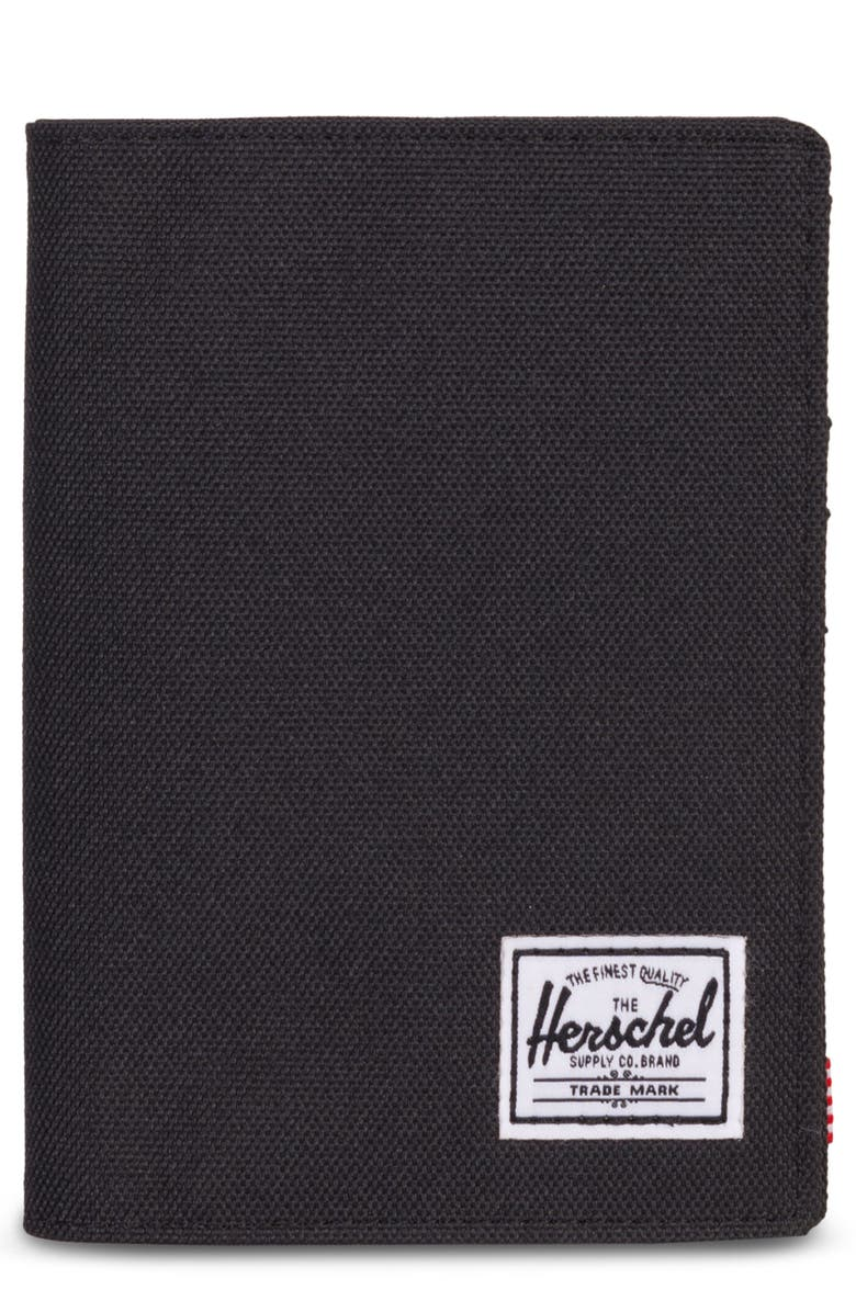 HERSCHEL SUPPLY CO. Raynor RFID Passport Case, Main, color, 001