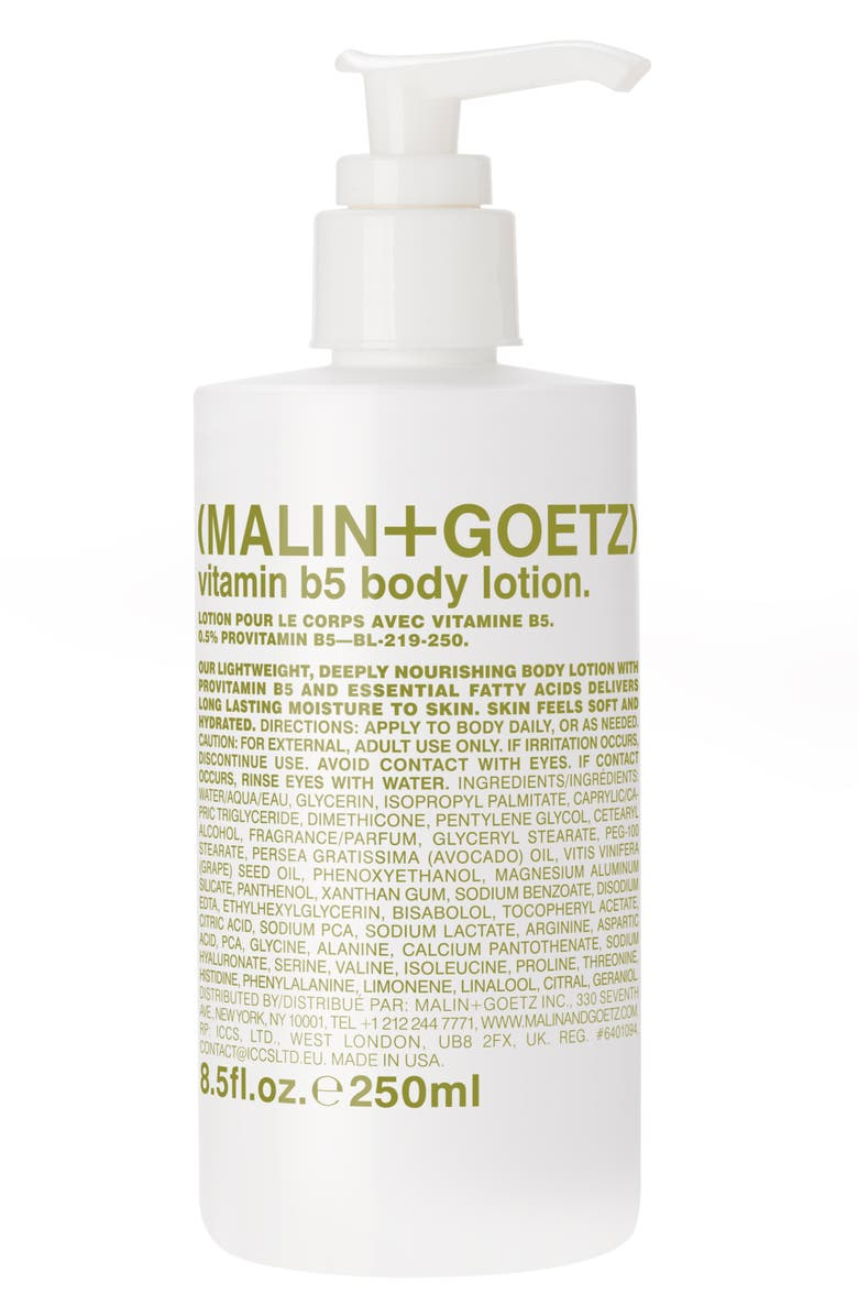 MALIN+GOETZ Vitamin B5 Body Lotion, Main, color, NO COLOR
