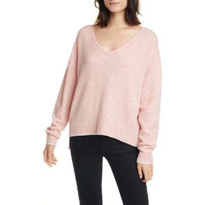 Line Audrey Merino Wool Blend Sweater, Black