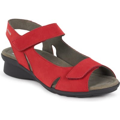 Mephisto Perry Sandal, Red