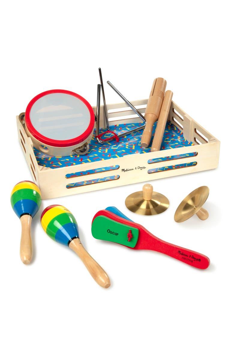 MELISSA & DOUG 'Band in a Box' Set, Main, color, MULTI