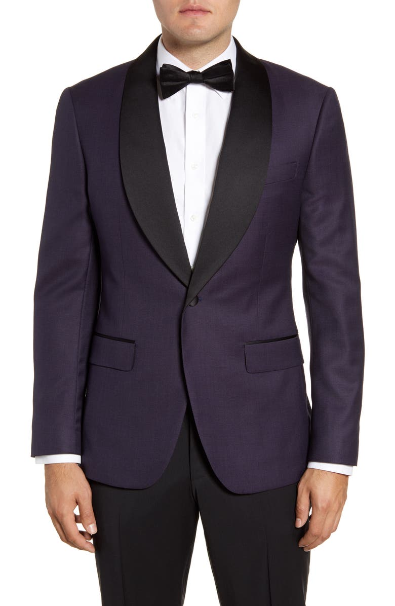 BONOBOS Slim Fit Wool Dinner Jacket, Main, color, 500