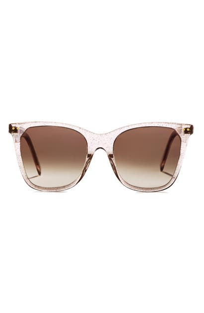 Celine 55MM GRADIENT CAT EYE SUNGLASSES