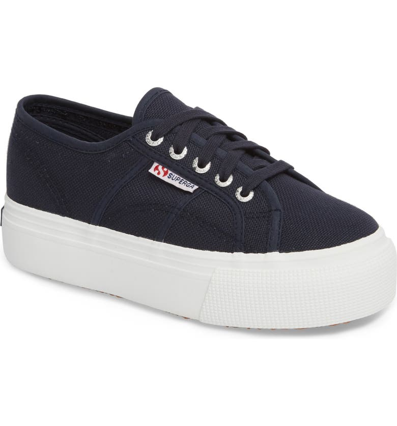 SUPERGA 'Acot Linea' Sneaker, Main, color, NAVY