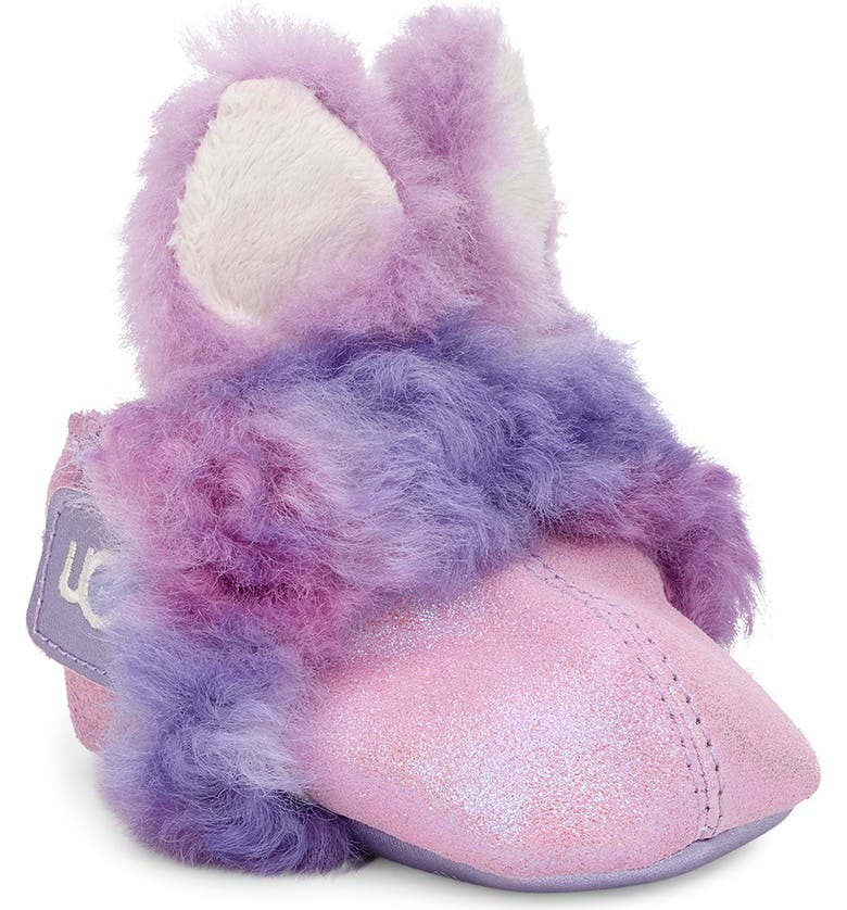 UGG<SUP>®</SUP> Paz Genuine Shearling Slipper, Main, color, ORCHID BLUSH