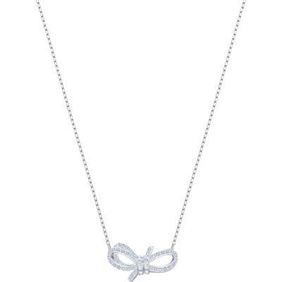 Swarovski Lifelong Bow Pendant Necklace