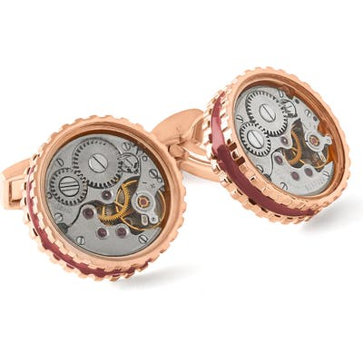 Tateossian Skeleton Gear Mechanical Cuff Links