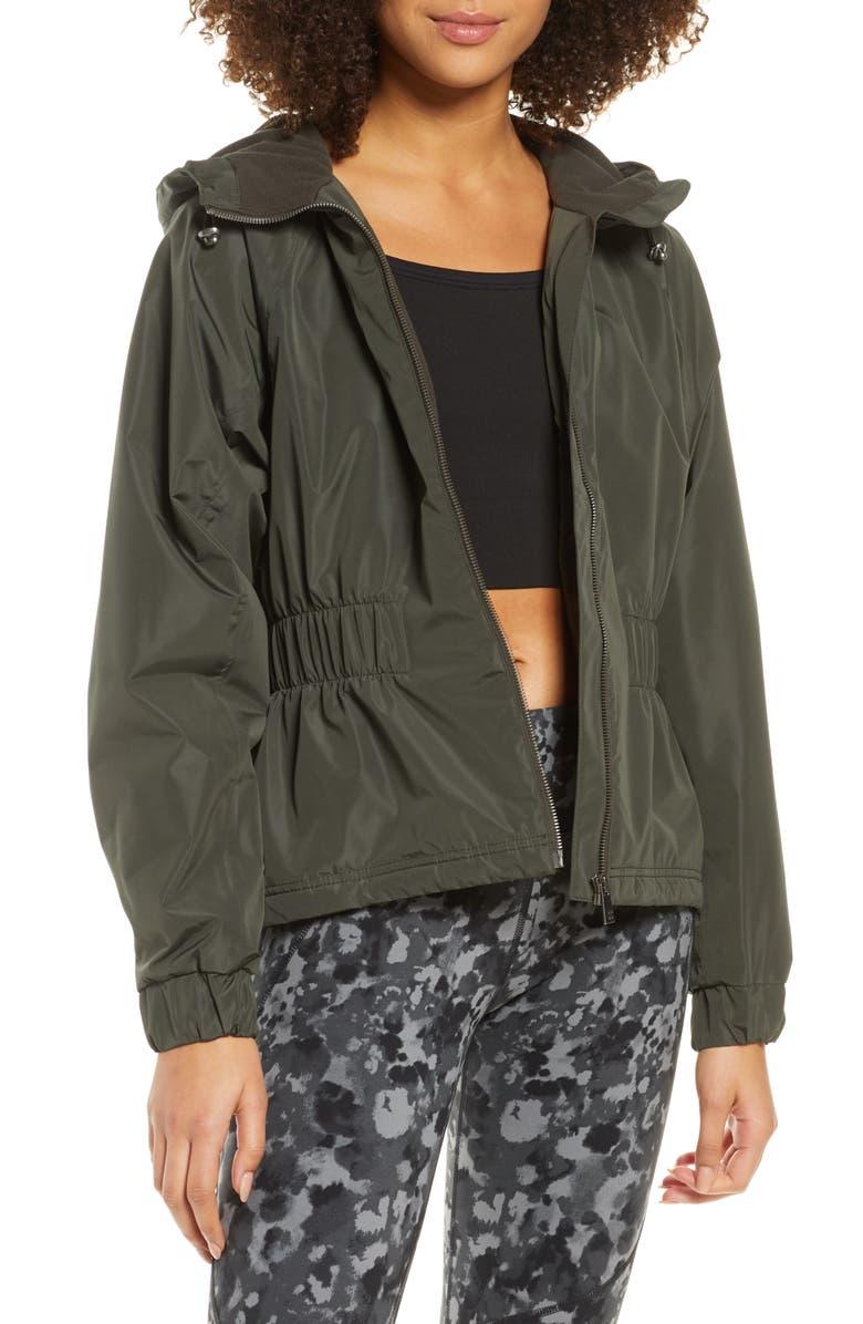 SWEATY BETTY Storm Seeker Waterproof Hooded Jacket, Main, color, 300