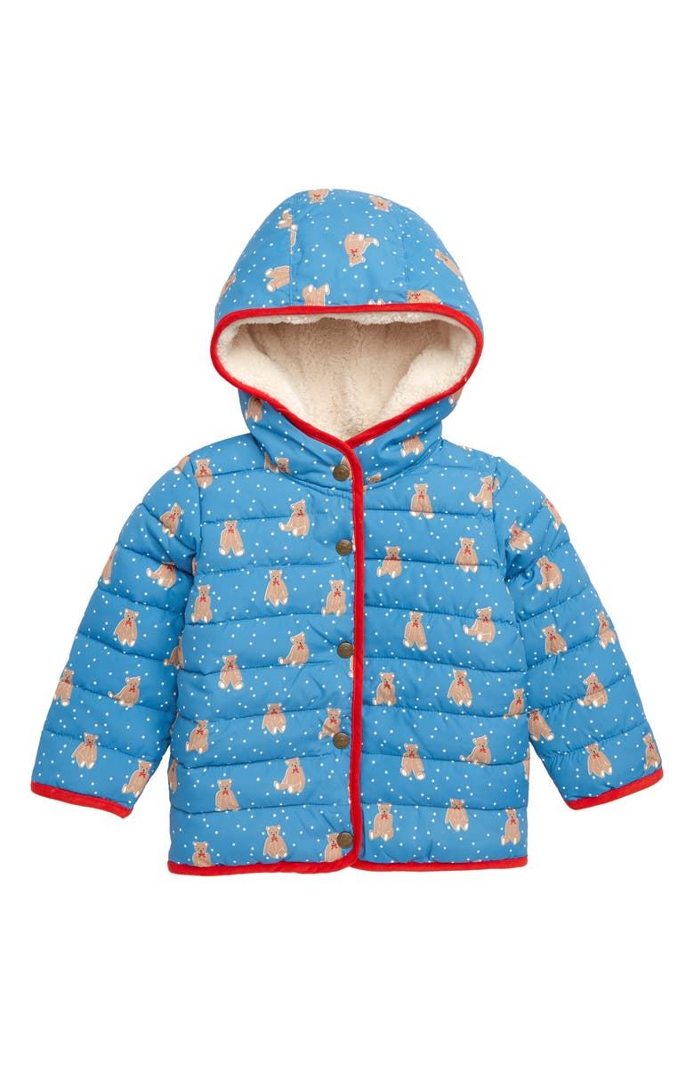 7787b44a6 Babysaurus Water Resistant Quilted Puffer Coat