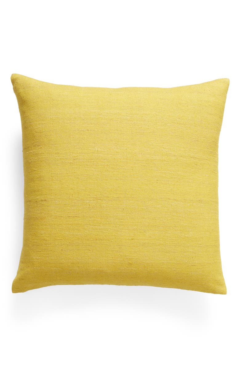 TREASURE & BOND Raw Silk Slub Accent Pillow, Main, color, 720