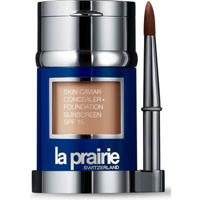 La Prairie Skin Caviar Concealer + Foundation Sunscreen Spf 15 -