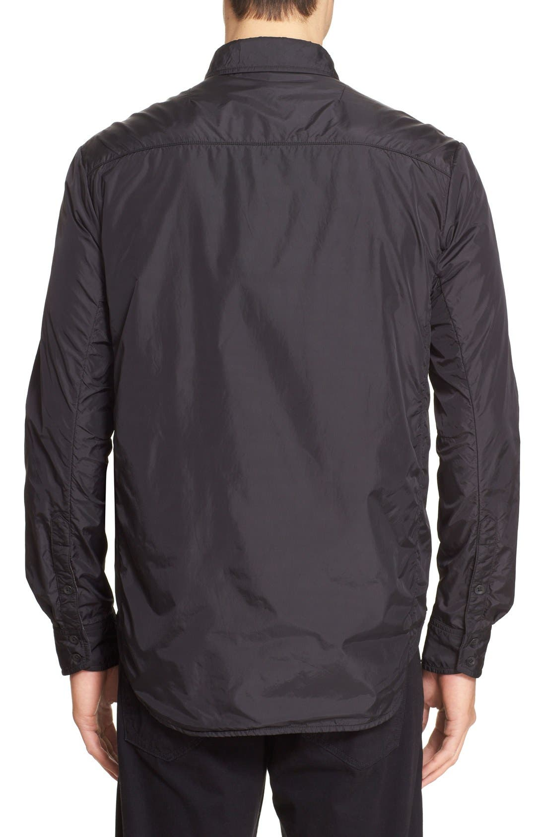 ,                             'Daltry' Zip Front Shirt Jacket,                             Alternate thumbnail 3, color,                             001