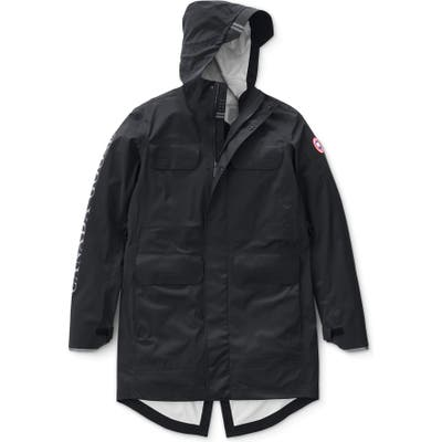 Canada Goose Seawolf Regular Fit Packable Waterproof Jacket, Black