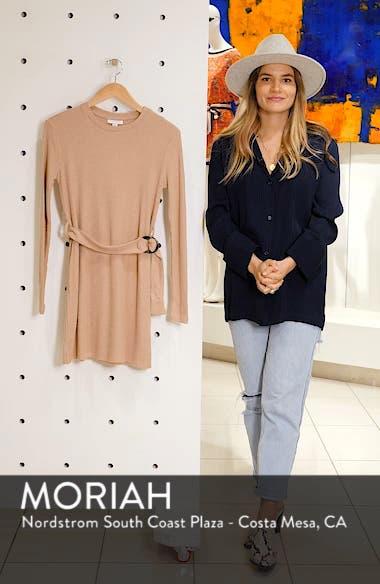 Long Sleeve Belted Minidress, sales video thumbnail