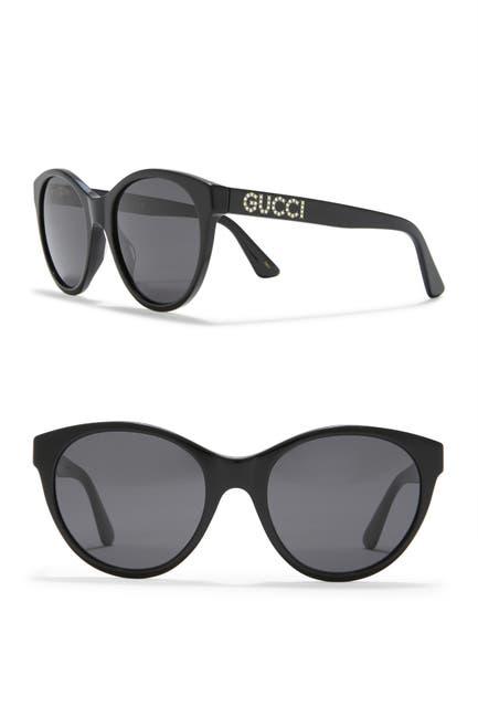 Image of GUCCI 54mm Cat Eye Sunglasses