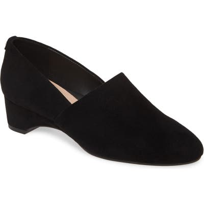 Taryn Rose Brenda Wedge Pump- Black