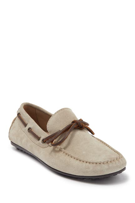 Image of MORAL CODE Ira Suede Driving Loafer