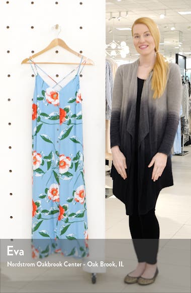 x The Motherchic Al Fresco Strappy Button Up Midi Sundress, sales video thumbnail