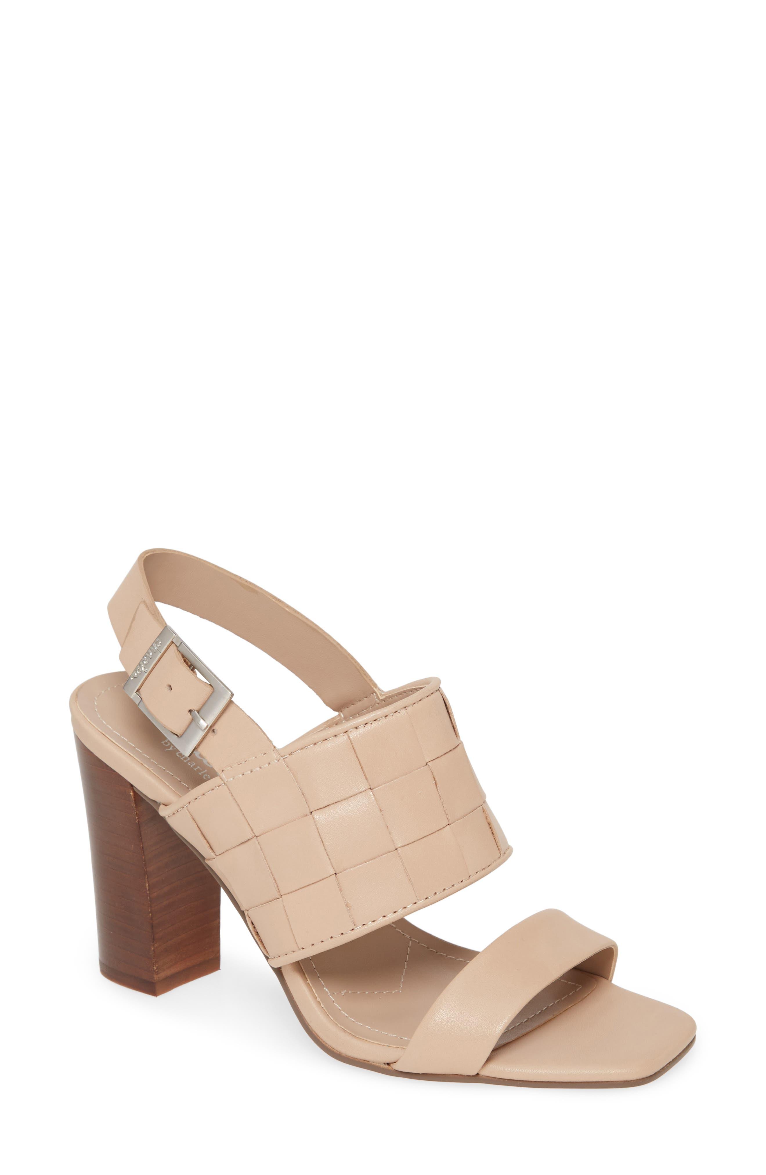Maison Block Heel Sandal