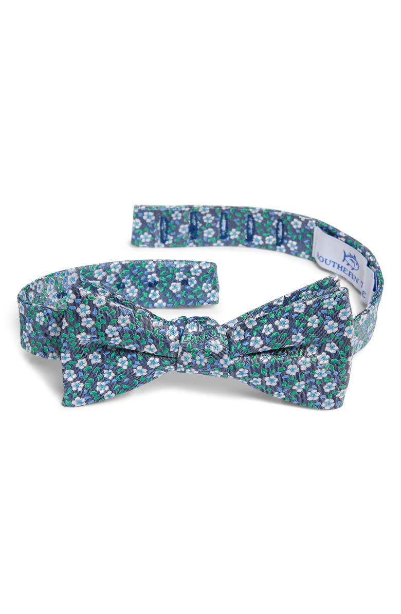SOUTHERN TIDE Mill Valley Floral Silk Bow Tie, Main, color, 300