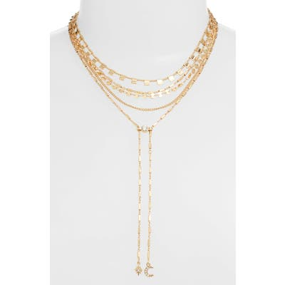 Ettika Layered Lariat Necklace