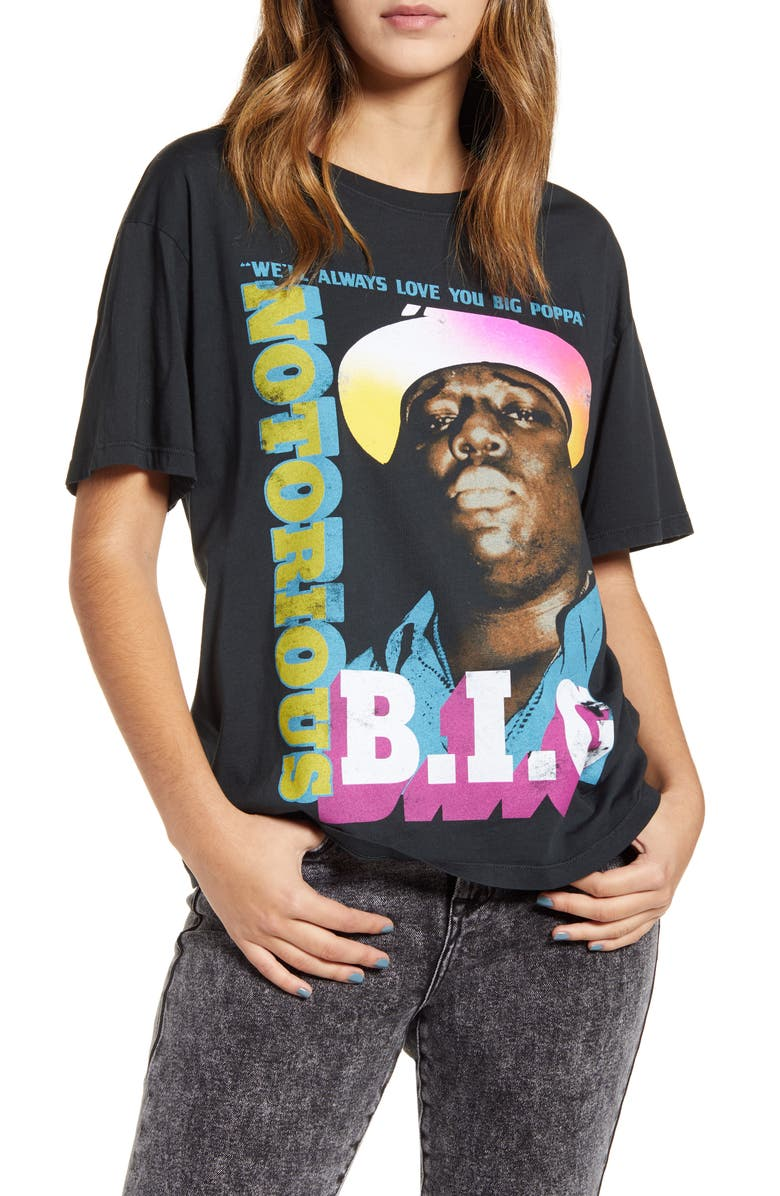 DAY Notorious B.I.G. Boyfriend Tee, Main, color, 010