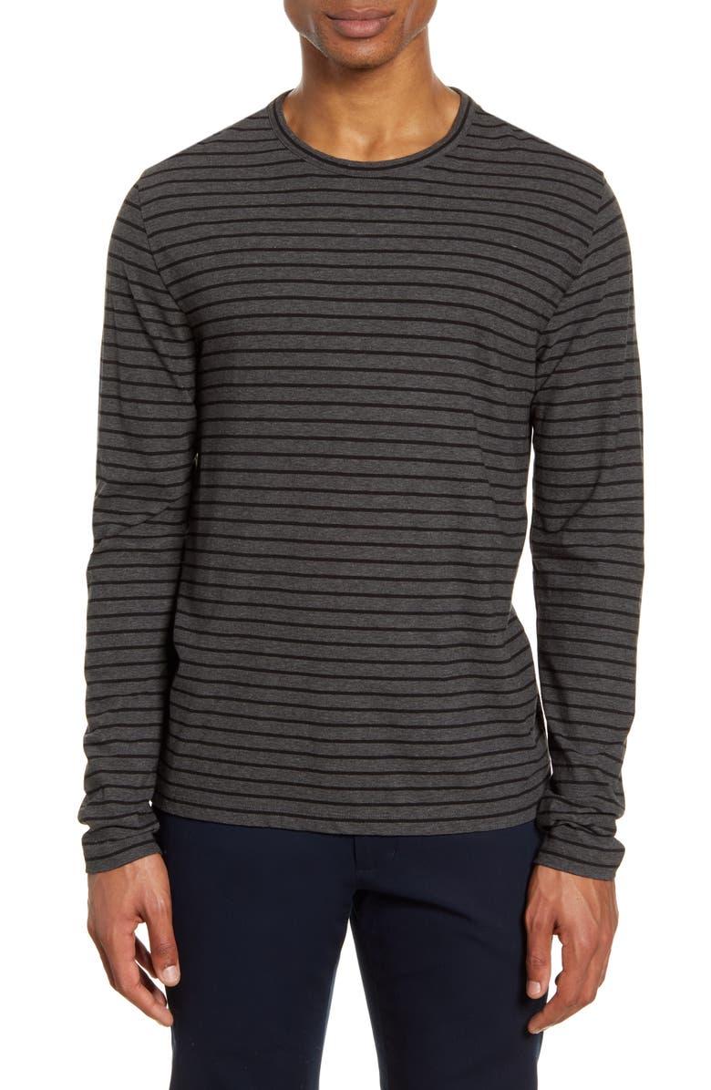 VINCE Stripe Classic Fit Crewneck T-Shirt, Main, color, 062