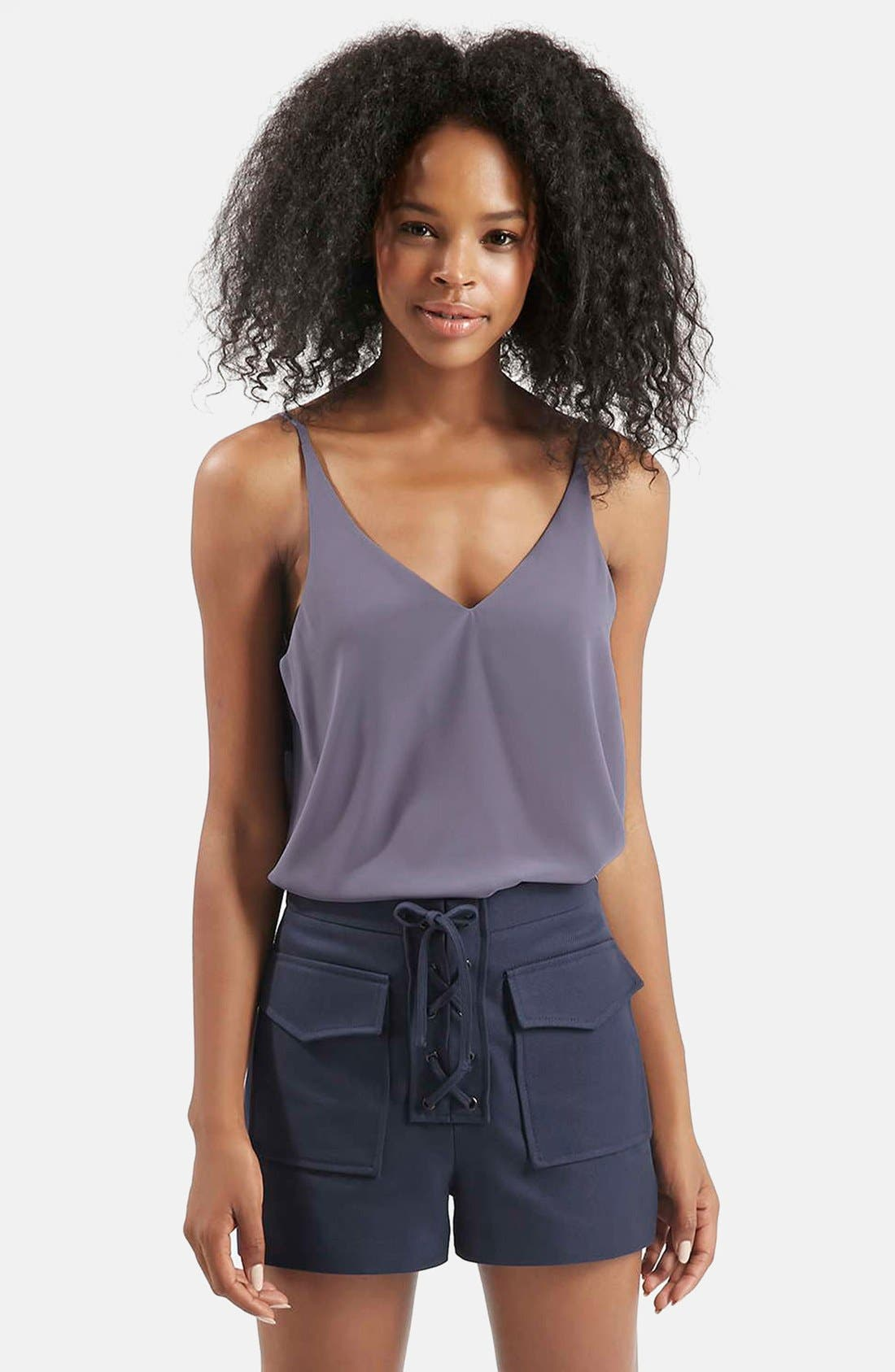 ,                             Strappy V-Neck Camisole,                             Main thumbnail 38, color,                             500