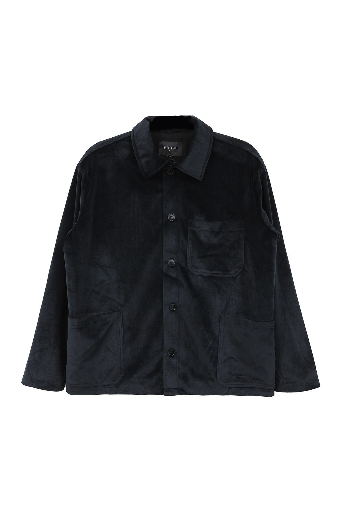 Image of FRNCH Long Sleeve Button-Front Jacket