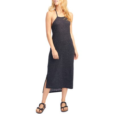 Endless Summer By Free People Orchid Sleeveless Midi Dress, Black
