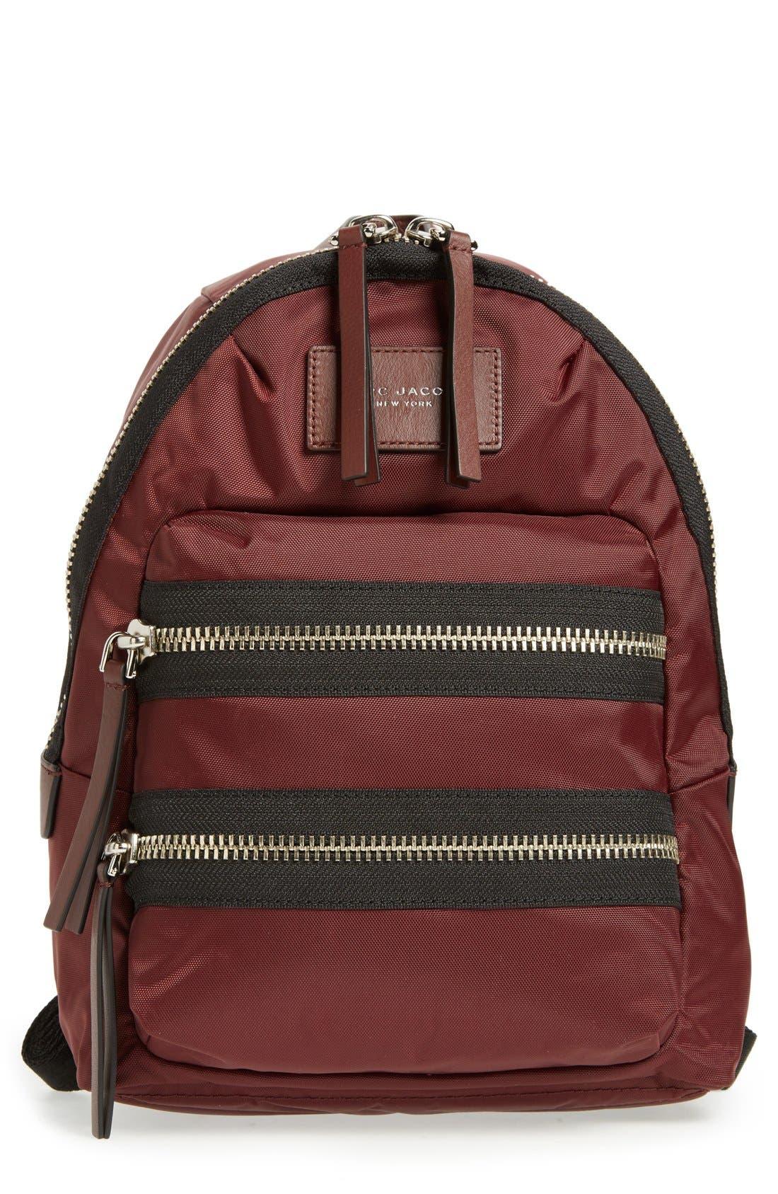 ,                             'Mini Biker' Nylon Backpack,                             Main thumbnail 35, color,                             930