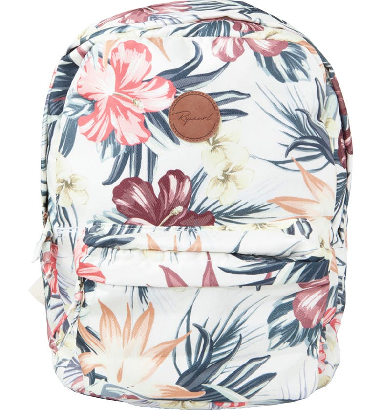 RIP CURL Anini Floral Backpack, Main, color, 124