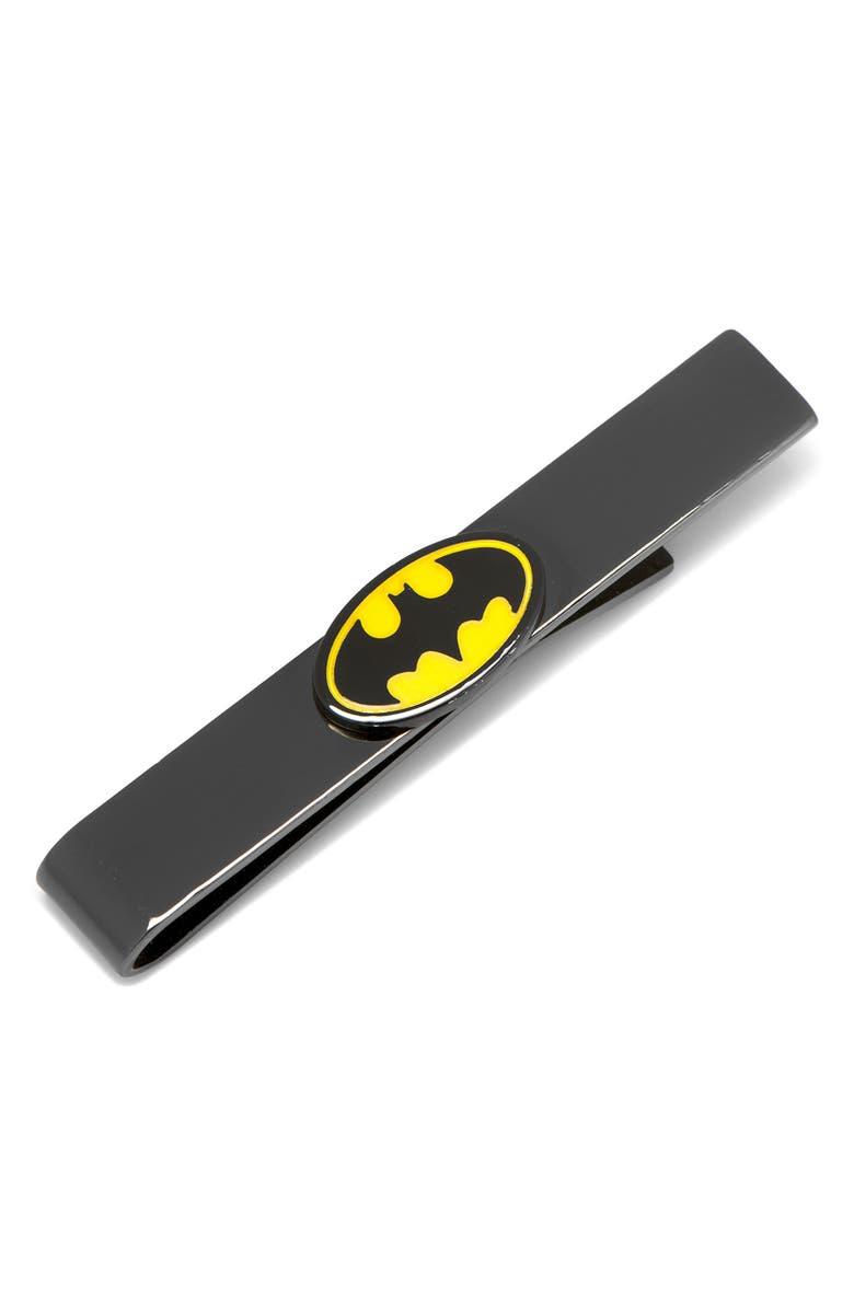 CUFFLINKS, INC. Batman Tie Bar, Main, color, BLACK