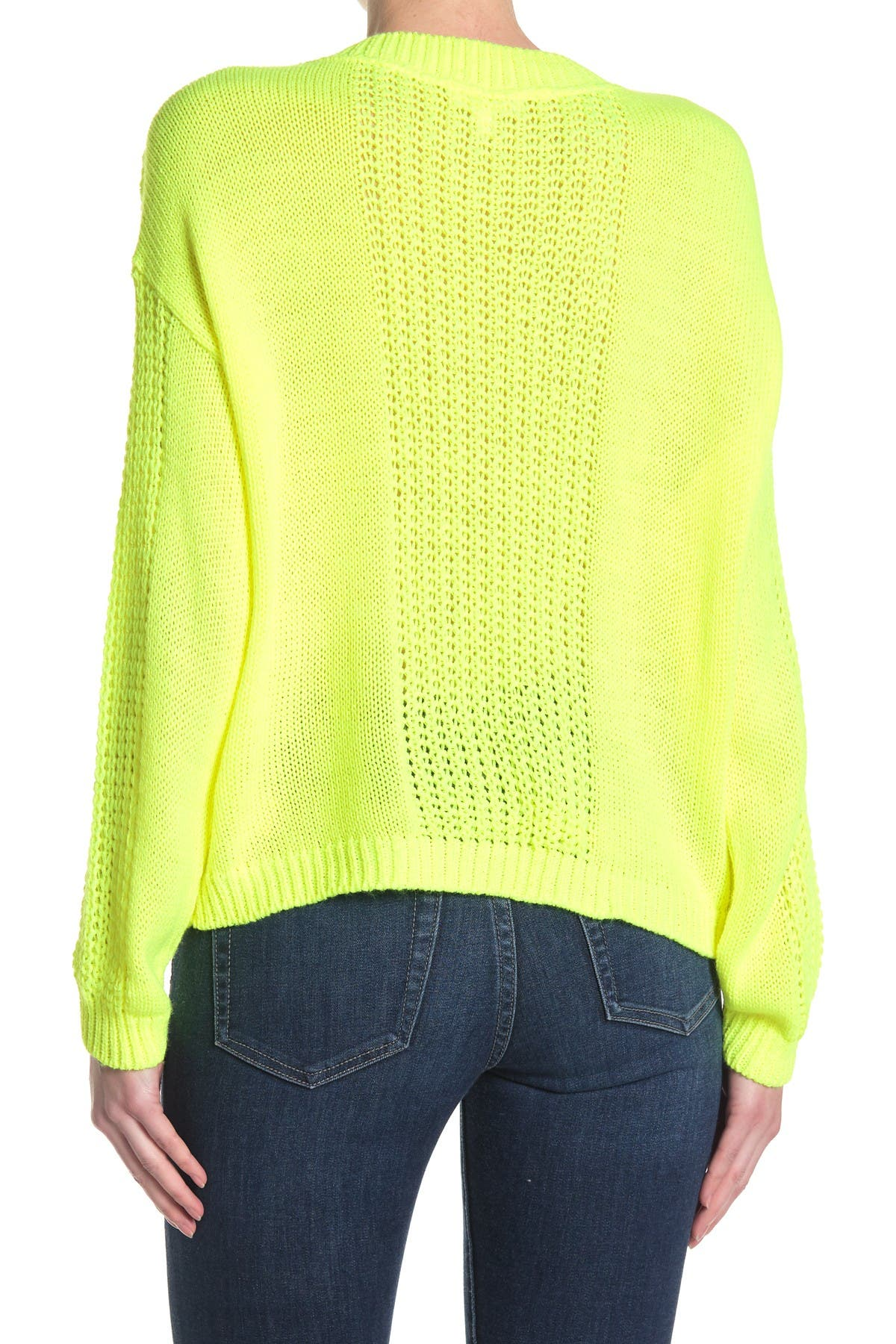 Image of Abound Crew Neck Cable Knit Sweater