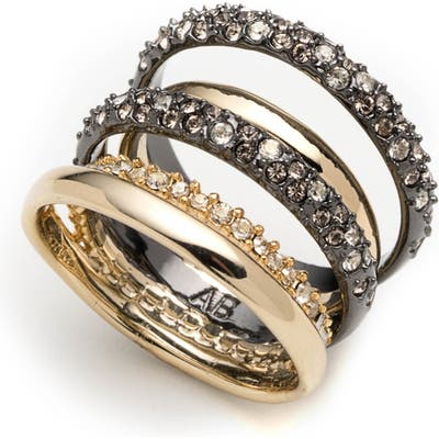 Alexis Bittar Pave Stack Ring