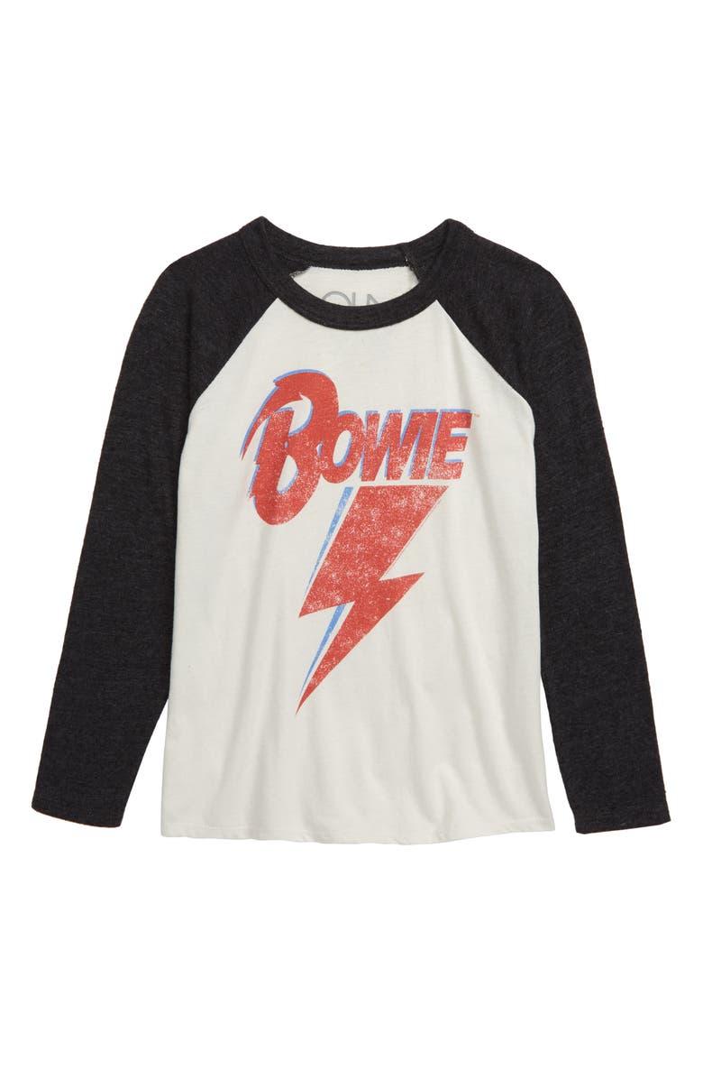 CHASER David Bowie Baseball T-Shirt, Main, color, 020